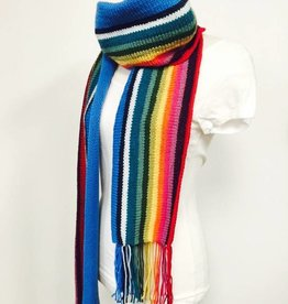 Spun Fibre 13th Doctor Who Scarf  (Knit version)