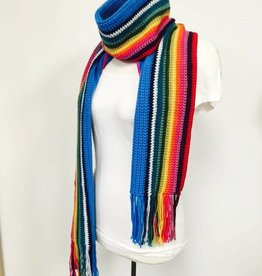 Spun Fibre 13th Doctor Who Scarf  (Crochet version)