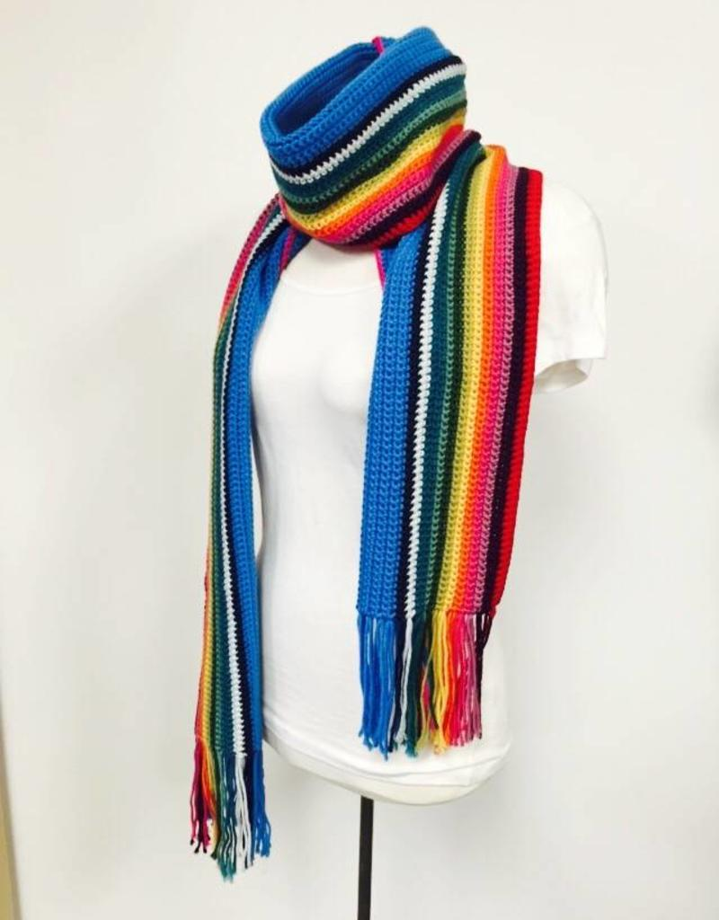 13th Doctor Who Scarf  (Crochet version)