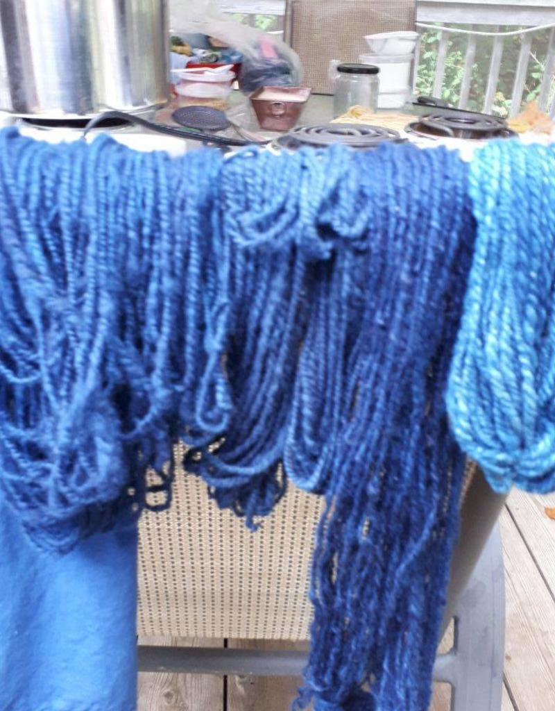 Class Dyeing Yarn with Indigo and Natural Dyes - Saturday, March 9th 11 - 4pm