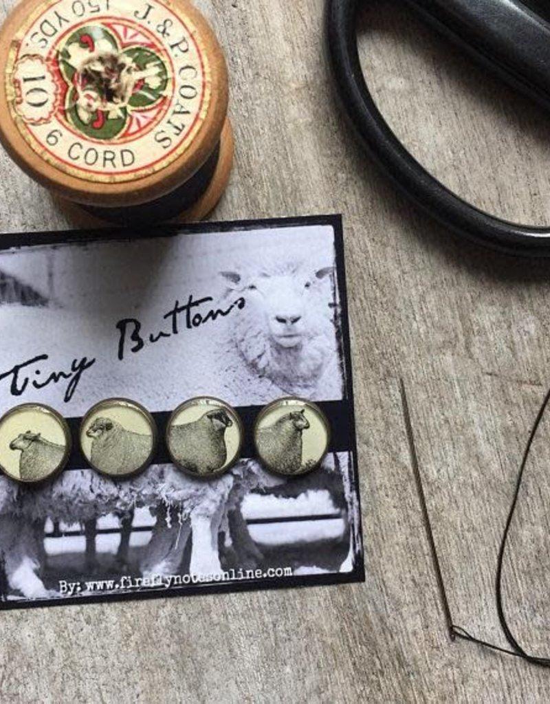 NNK Resin Sheep Button