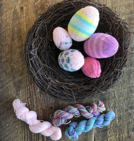 Spun Fibre Easter Egg Kit