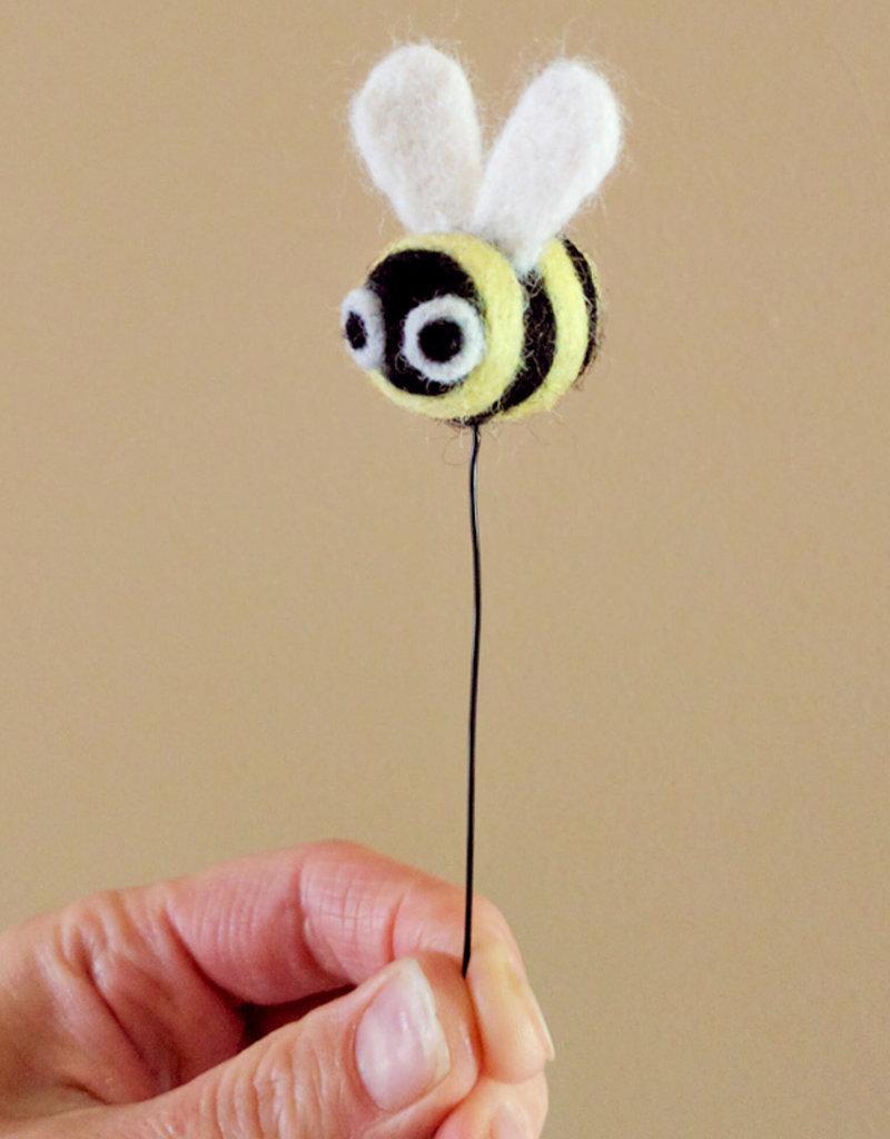 Needle Felting Bee