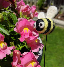 Needle Felting Bee