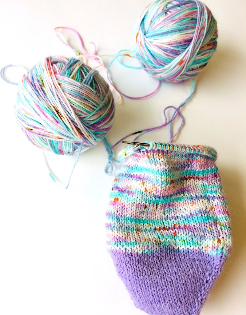 Class 2in1 Toe Up Socks