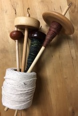 Class Spinning with a Drop Spindle