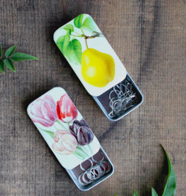 NNK Stitch Marker Tins:  Tulips