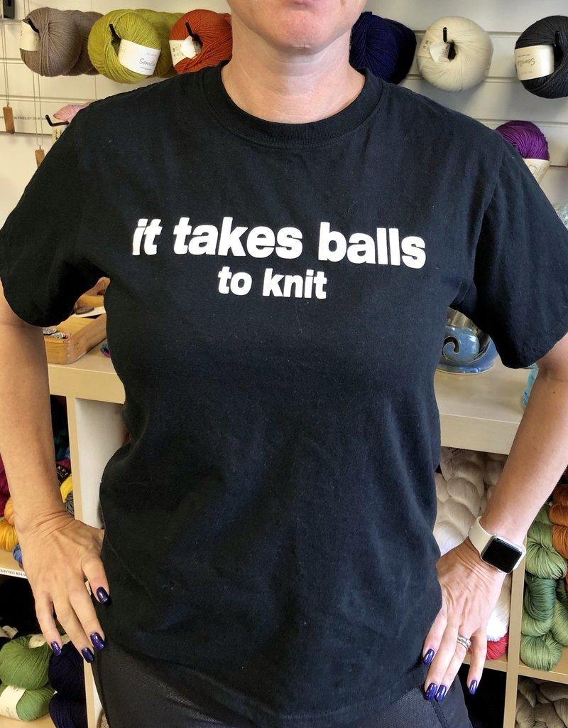 Spun Fibre It Takes Balls to Knit T-Shirt