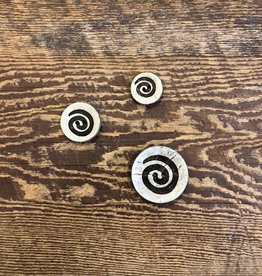 Seco Knopf Spun Coconut Buttons