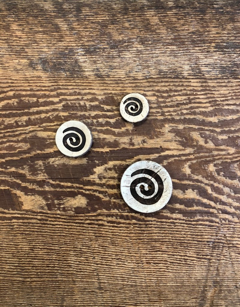 Seco Knopf Spun Coconut Buttons