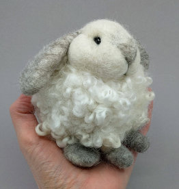 Needle Felting Bunny Puff  (March 21/20 12:30pm)SOLD OUT