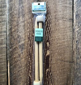 Clover 12.75 mm Premium Wood Knitting Needles