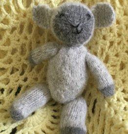 Knitted Fuzzy Lamb Virtual Class