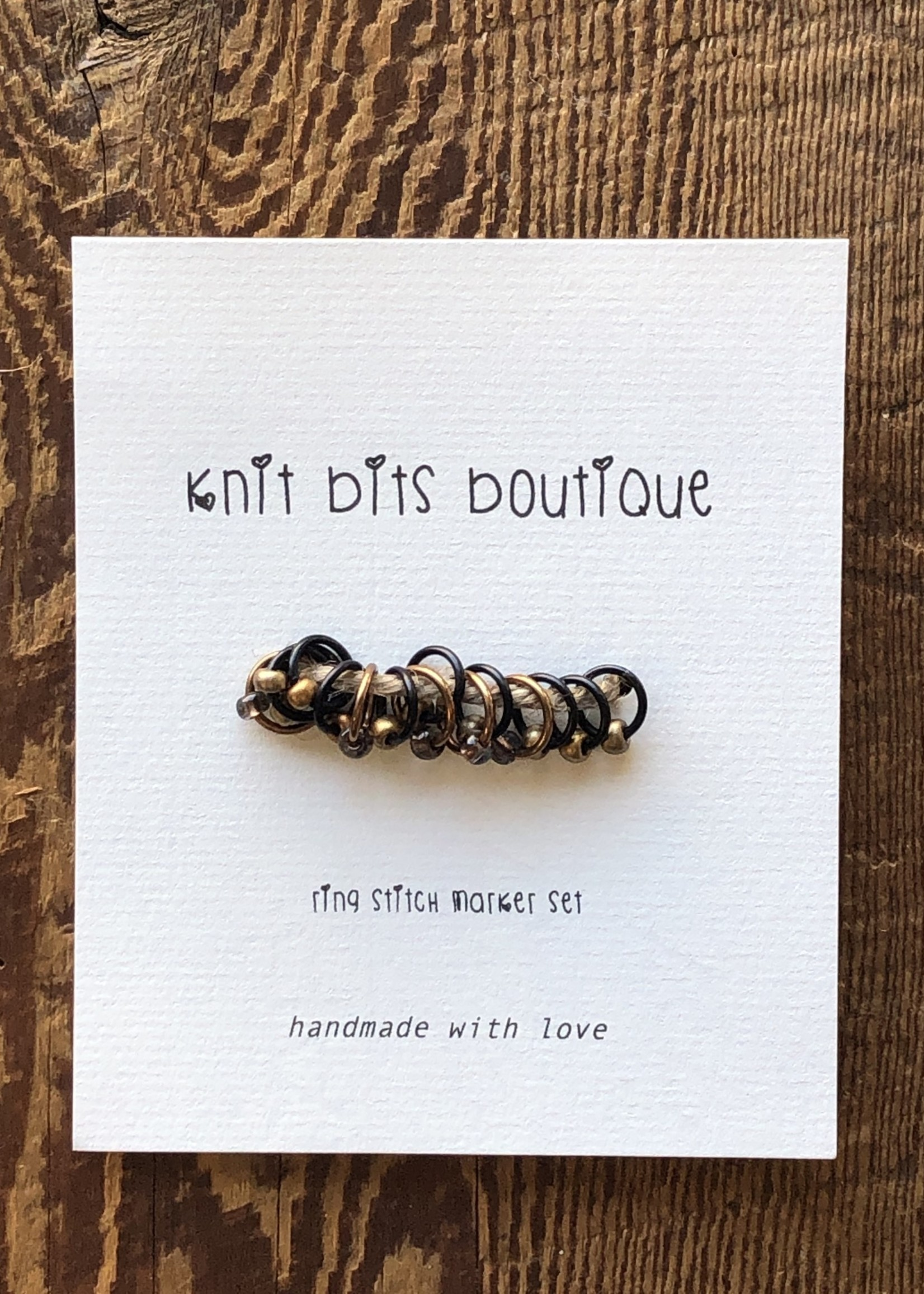Knit Bits Boutique Round Stitch Markers (5mm)