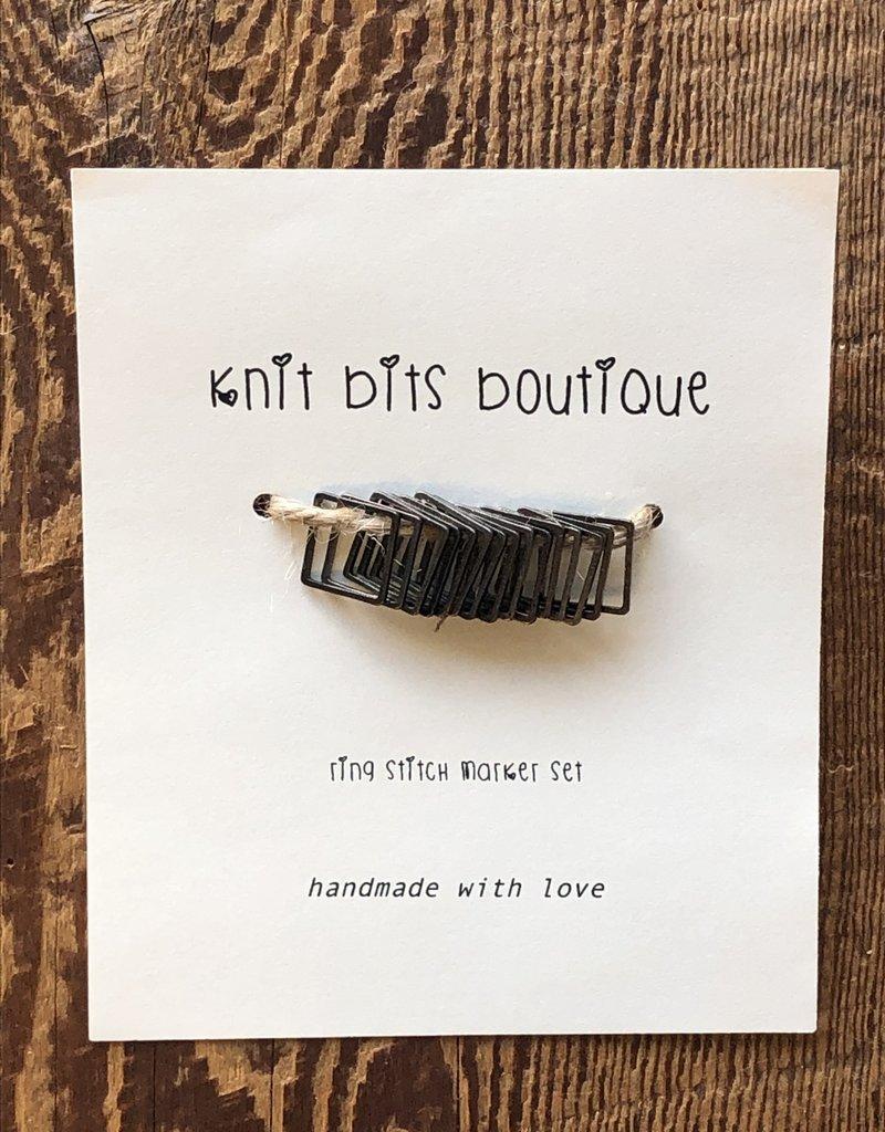 Knit Bits Boutique Square Stitch Markers (10mm)