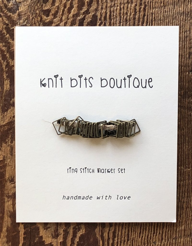 Knit Bits Boutique Square Stitch Markers (4mm)
