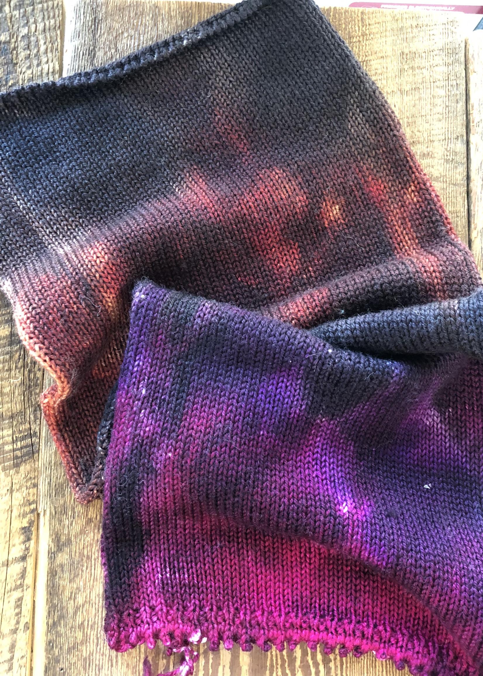 Essence of Autumn Sock, Prairie Sock Blank, 1 Sock/Fingering