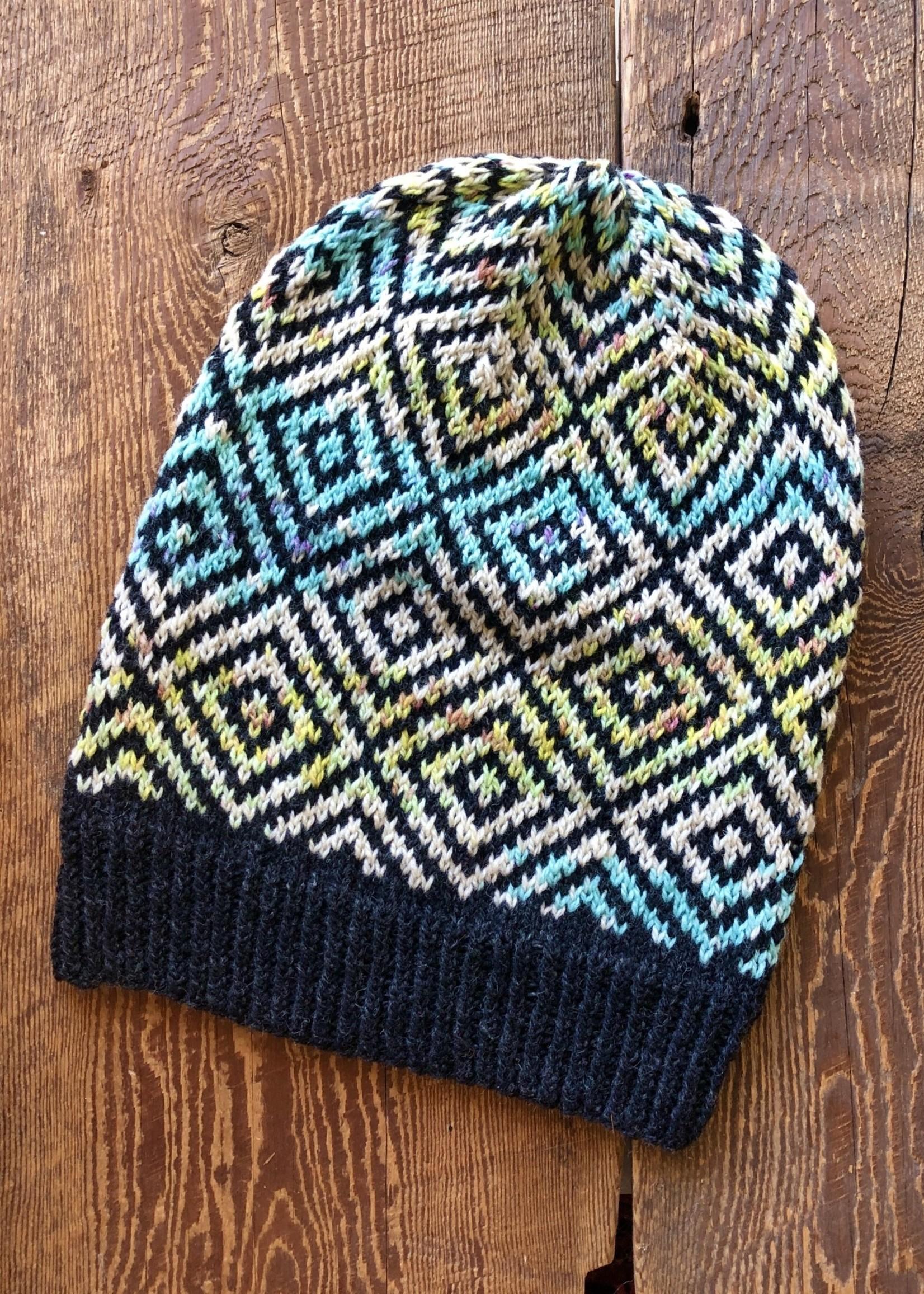 Spun Fibre Pātiki Hat Kit