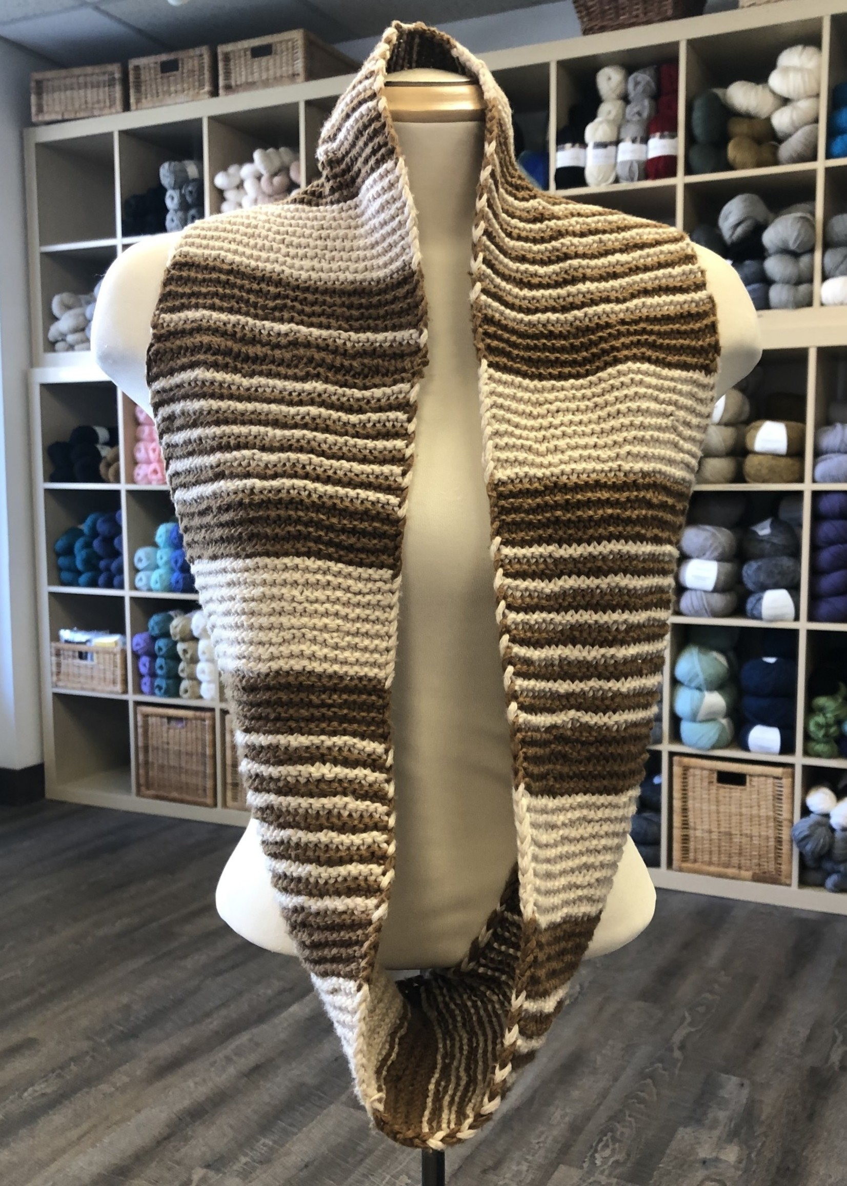 Cumulus Striped Cowl