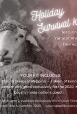 Spun Fibre Holiday Survival Kit