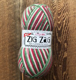 King Kole Zig Zag Sock Christmas #3408