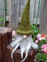 Needle Felting Class-Shaggy Hair Gnome