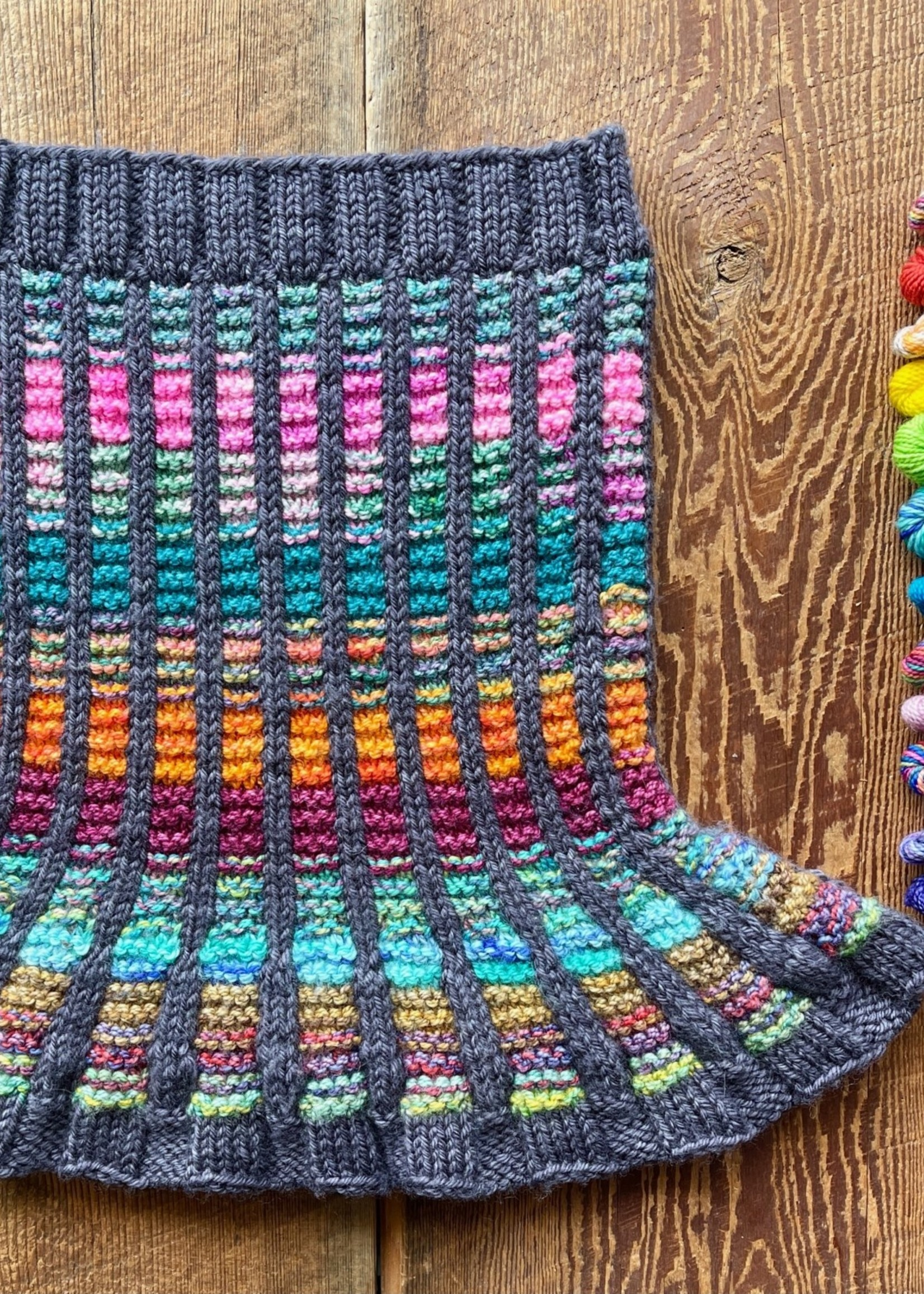 Danielle Comeau Stained Glass Cowl