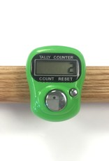 Spun Fibre Coloured Row Counter