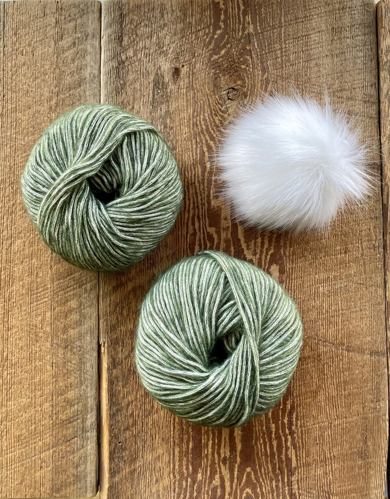 Spun Fibre Moffitt Hat - Cotton Merino & Pom