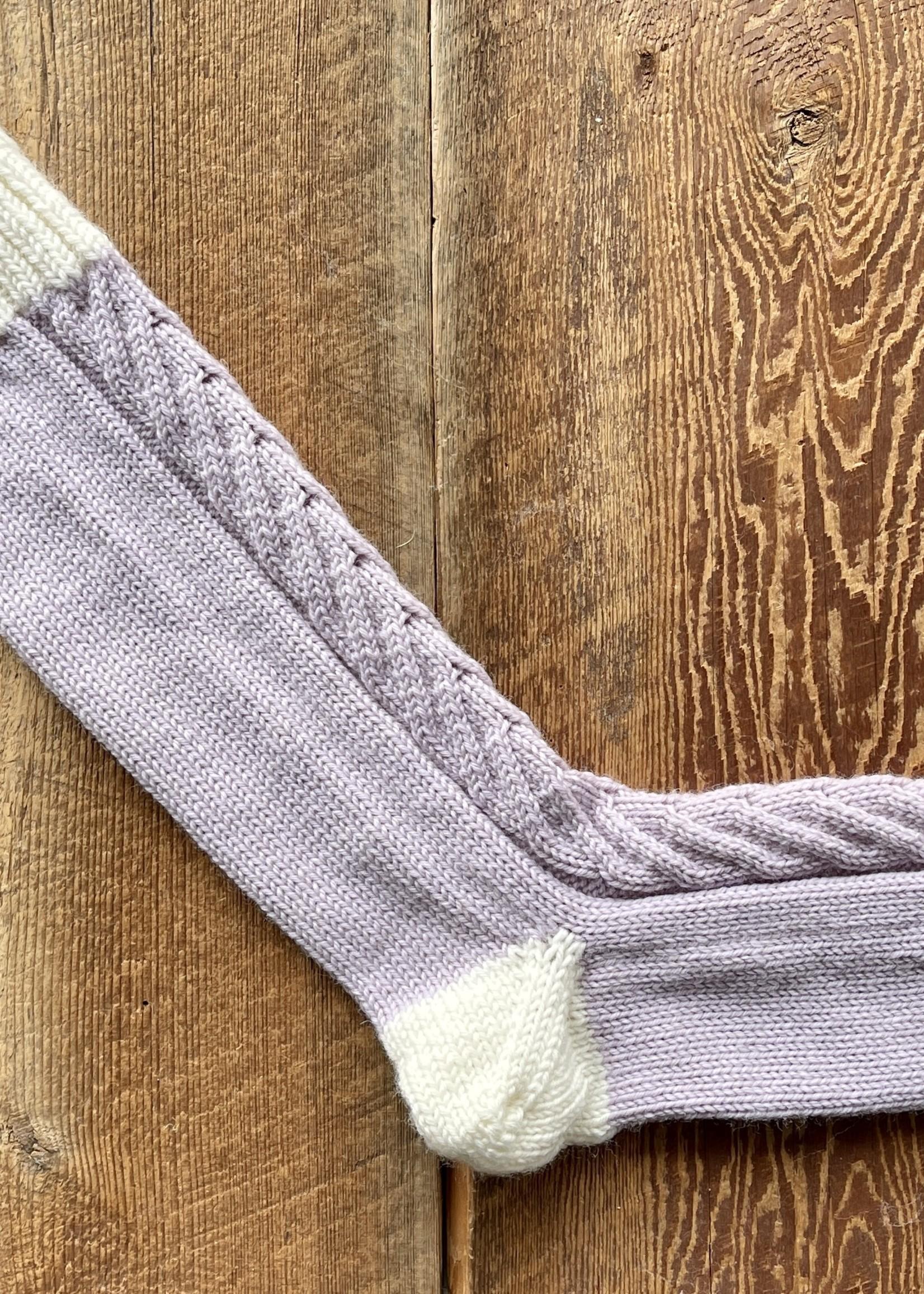 Pinkpenguinknits Staghorn Socks