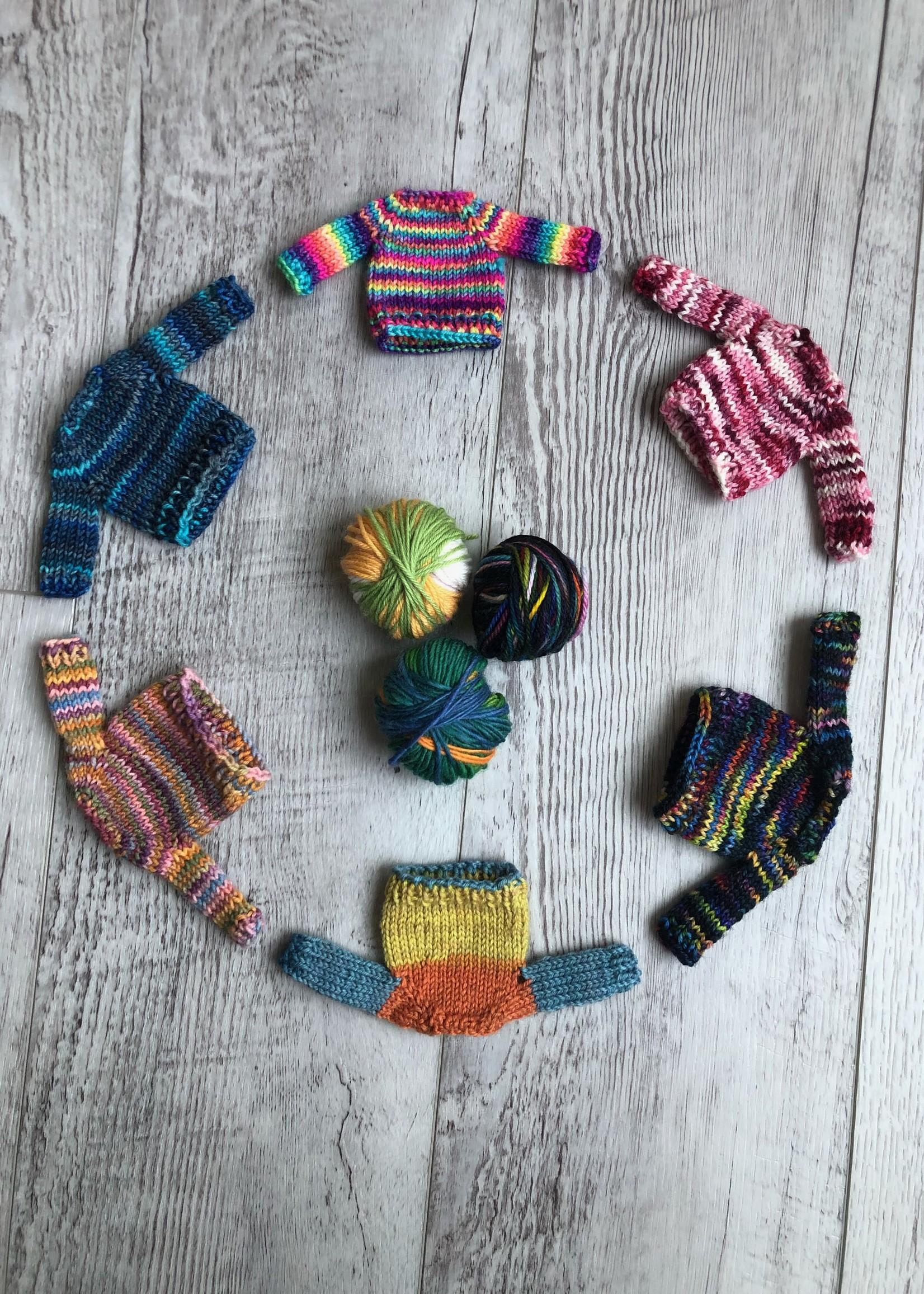 Spun Fibre Mini Sweater Kit