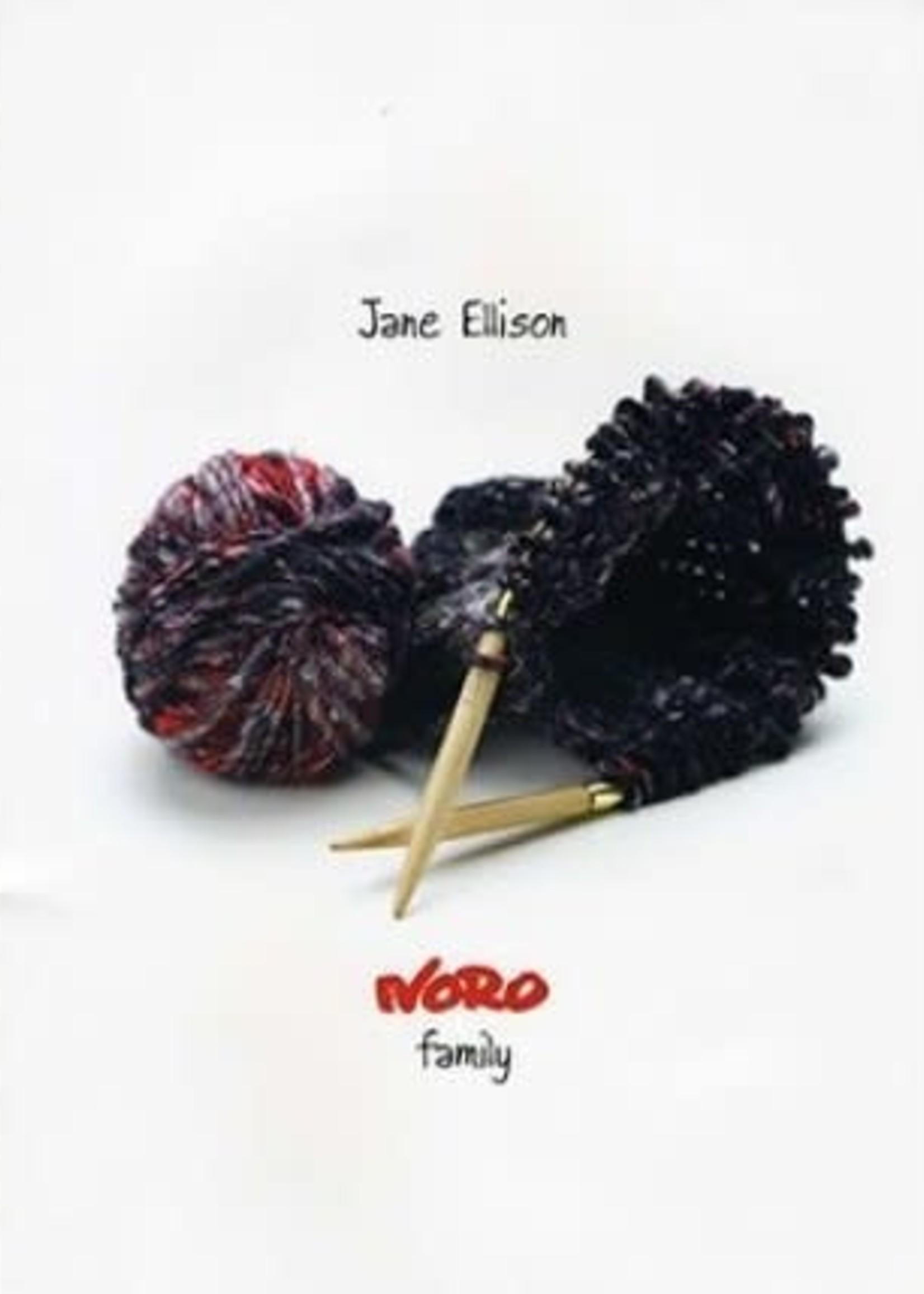 Noro Pattern Books Family by Jane Ellison
