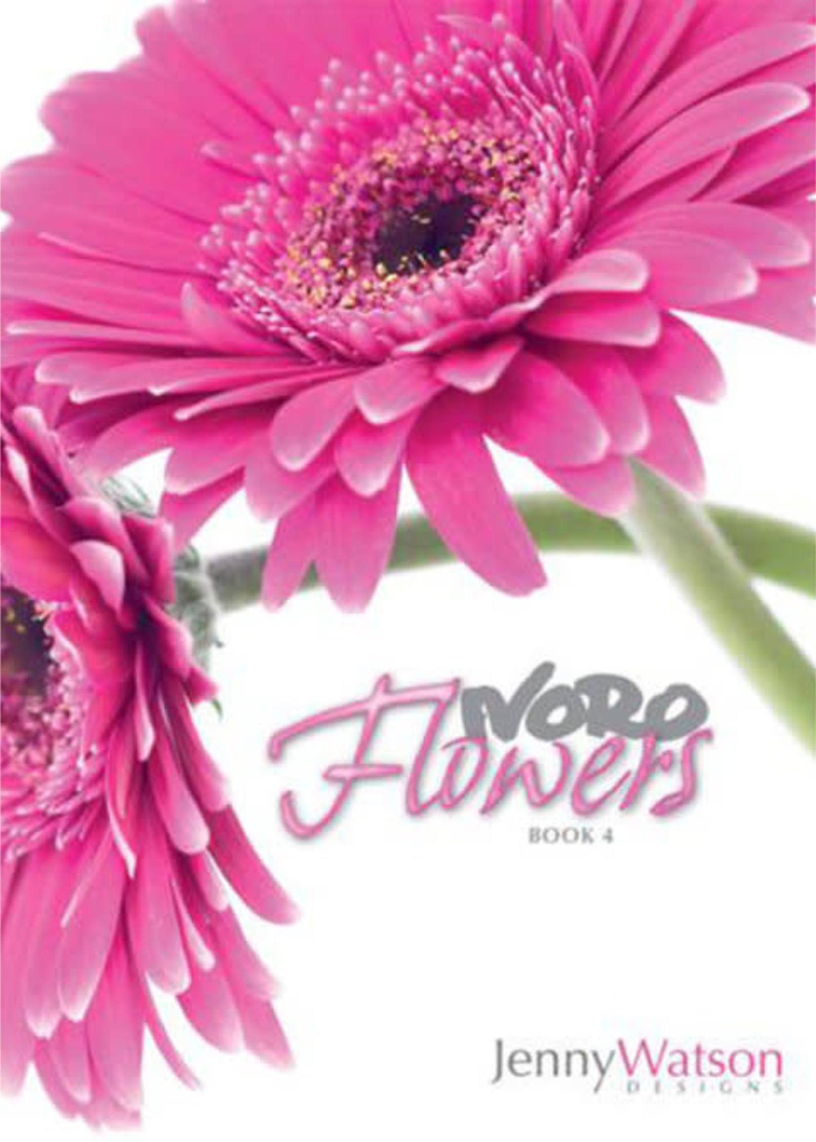 Noro Pattern Books Flowers Book 4 by Jenny Watson