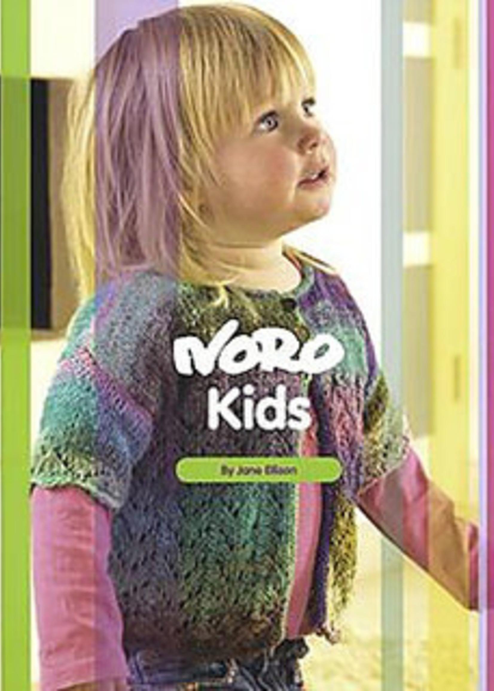 Noro Pattern Books Kids by Jane Ellison