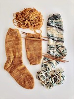 Knit Your First Sock(Oct 12/19/26 5-7pm)