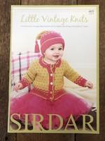 SIRDAR Pattern Books 405 Little Vintage Knits DK