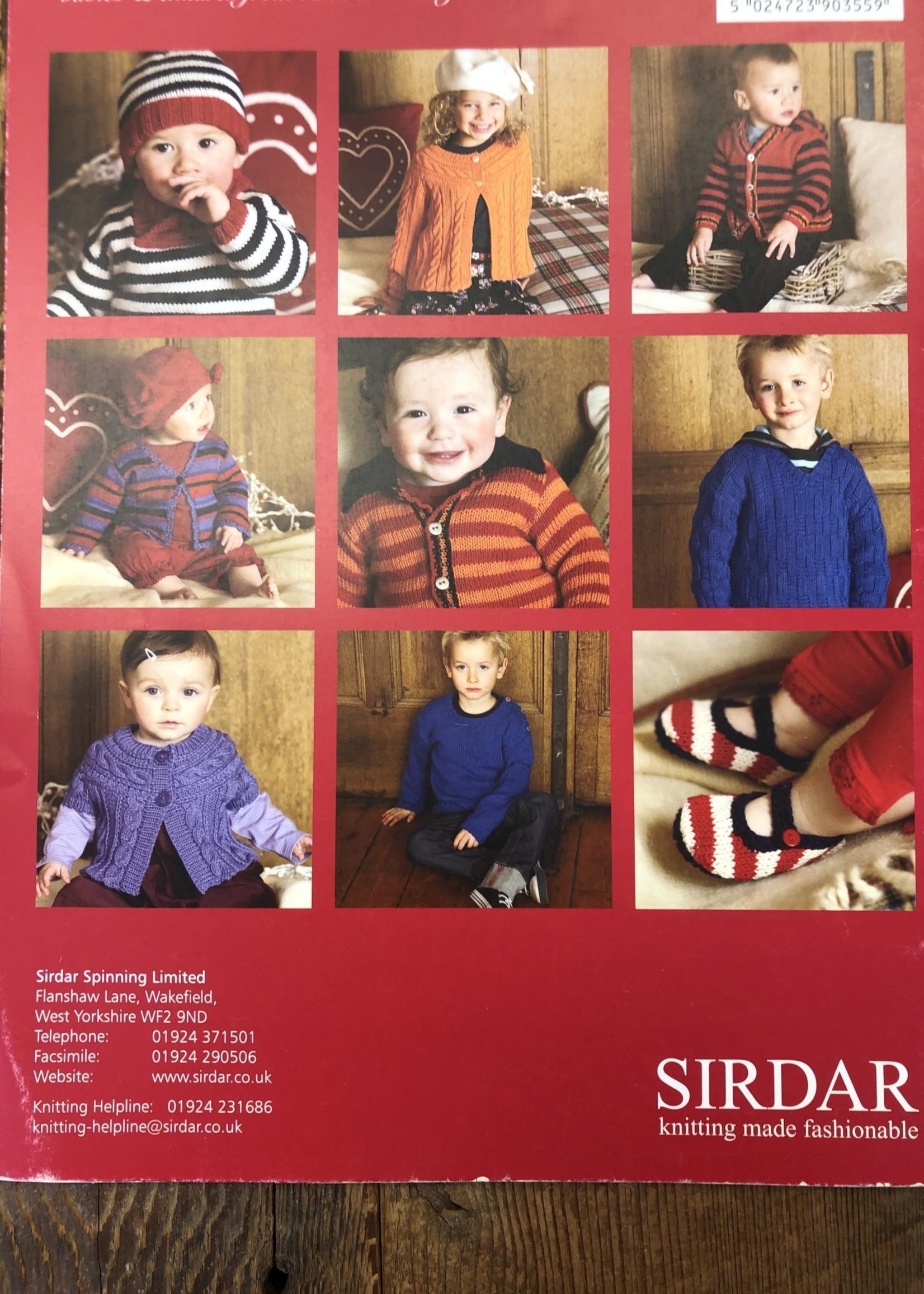 SIRDAR Pattern Books 355 Little Stars DK