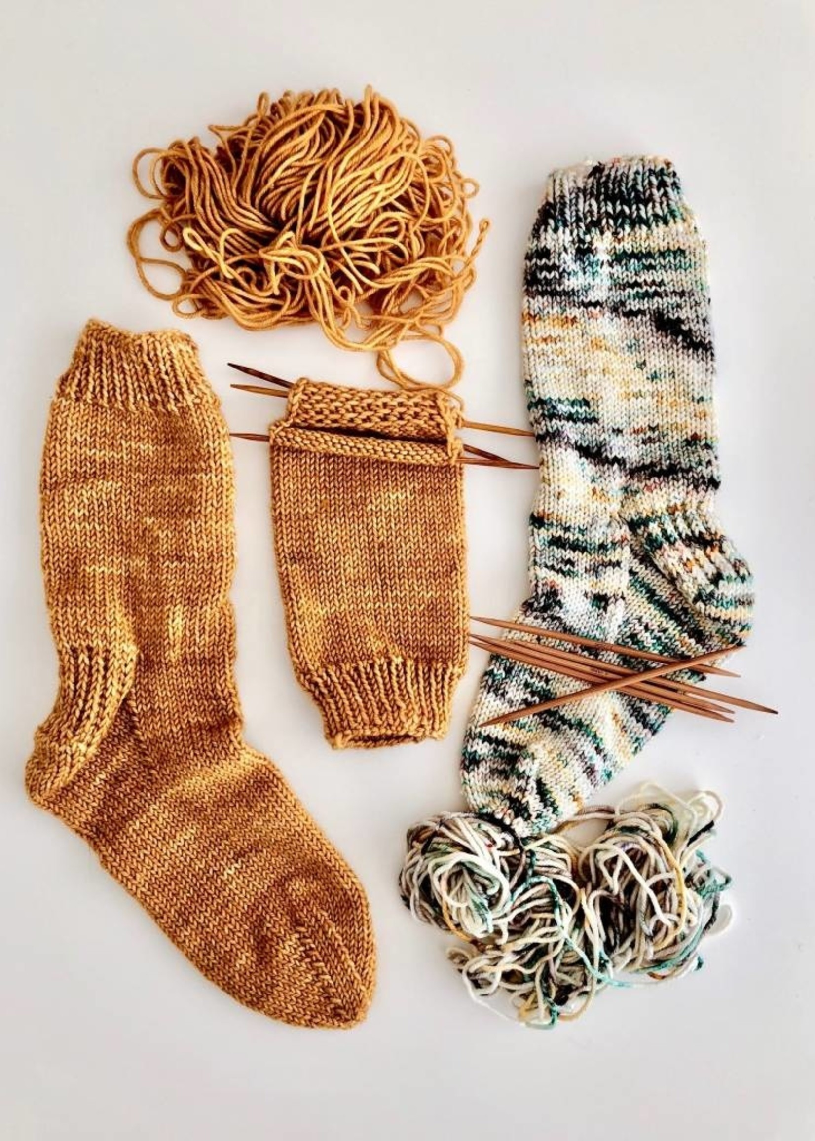 Knit Your First Sock-Virtual