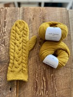 Cozy Cable Mittens Kit