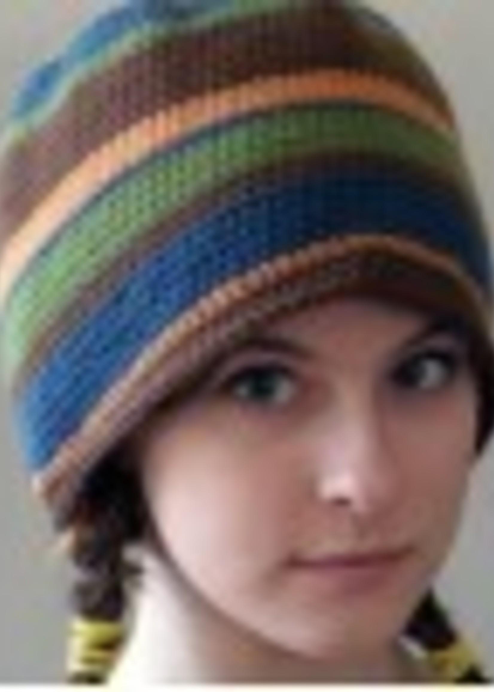 Spun Fibre Pattern PDF Crochet Basic Hat