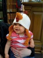 Danielle Comeau Pattern PDF Little Rooster Hat