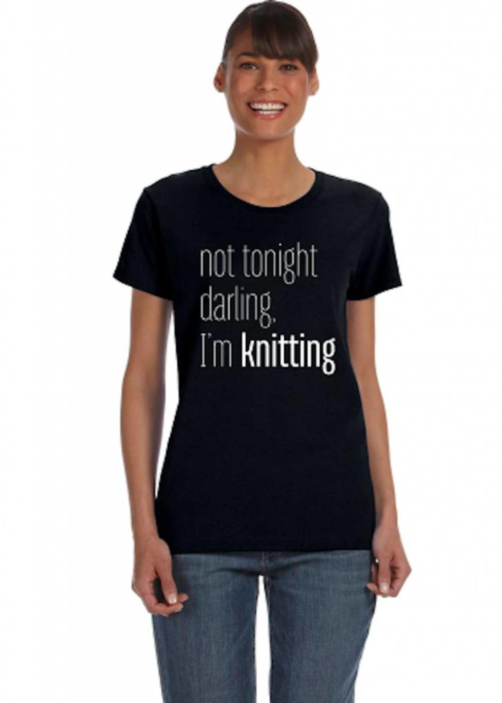Spun Fibre Not Tonight Darling T-shirt
