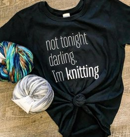 Spun Fibre Not Tonight Darling T-shirt
