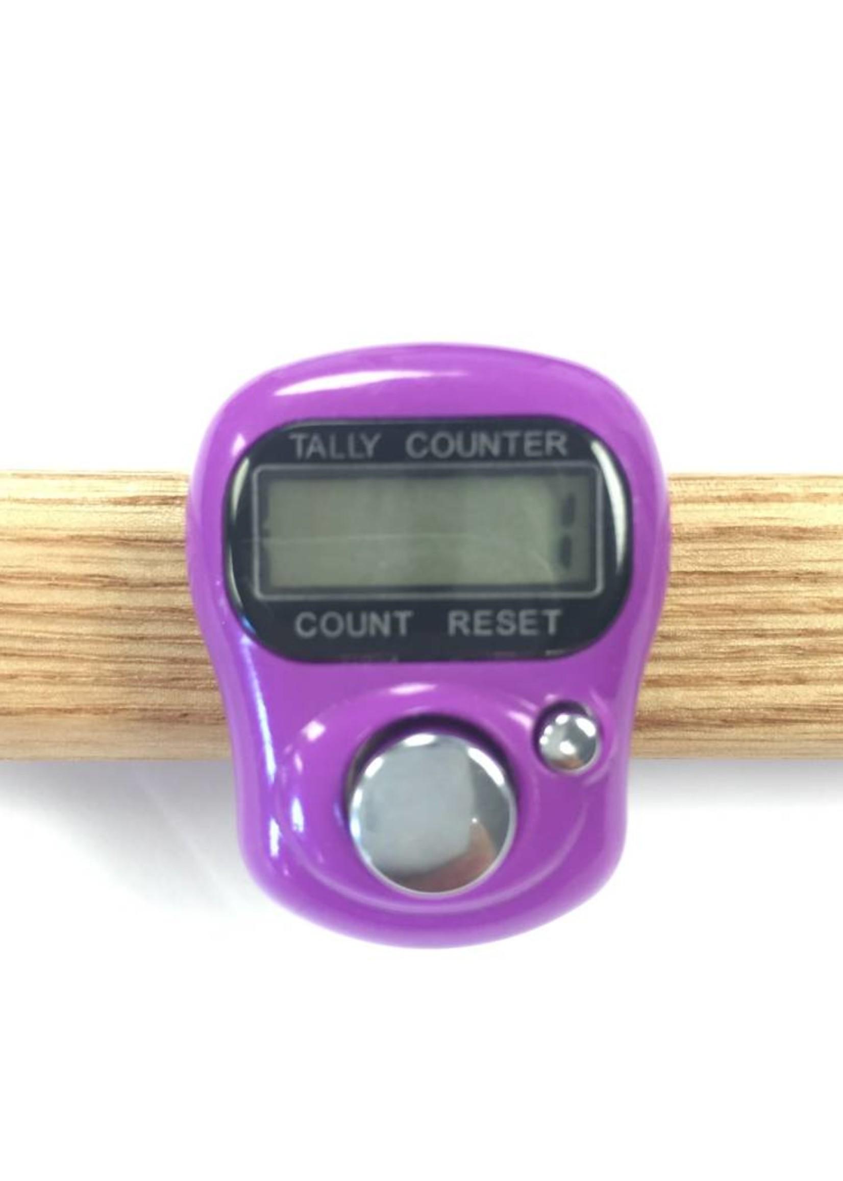 Spun Fibre Coloured Row Counter