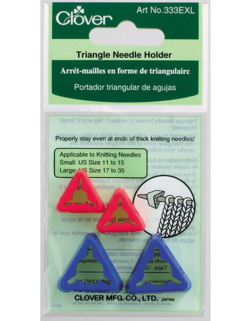 Clover Triangle Needle Holder - XL