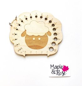 Maple & Rose Maple & Rose Sheep Needle Gauge