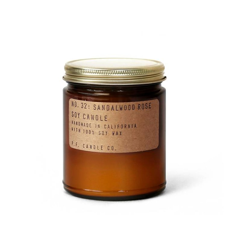 PF Candle Sandalwood Rose Soy Candle