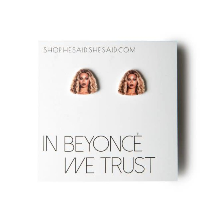 He Said, She Said Beyonce Earrings