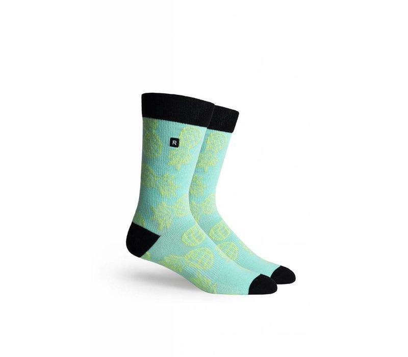 Luau Crew Socks