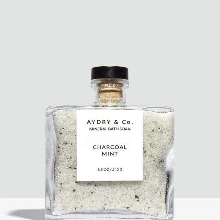 Aydry & Co. Charcoal Mint Mineral Bath Soak